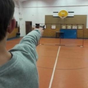 Finałowe strzelania dzieci i młodzieży